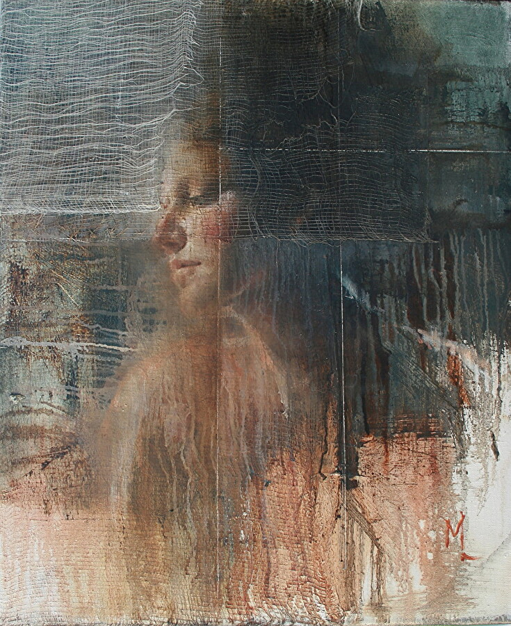 Parallel by Mara Light Oil ~ 24 x 20