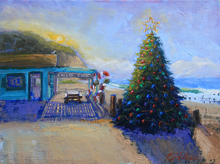 All Aglow Tree Accepted into Exhibition at Forest & Ocean Gallery