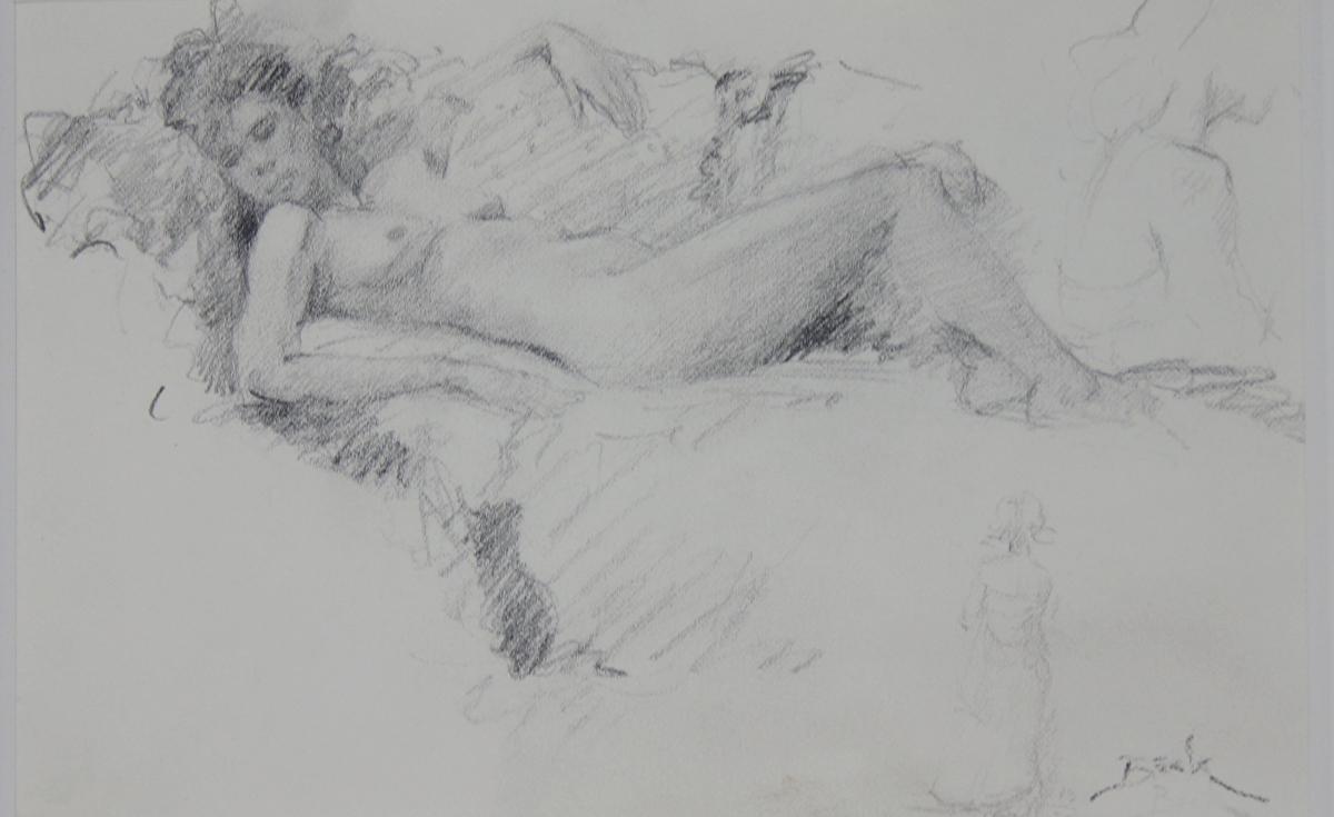 Quick sketch by dan beck pencil 5 x 7