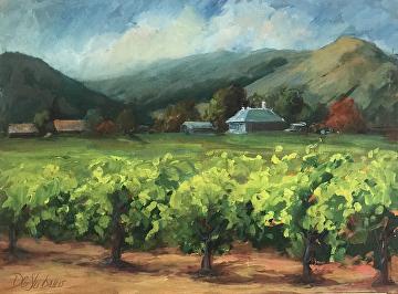 Deirdre Shibano - Portfolio of Works: Wine Country Paintings ~ Napa