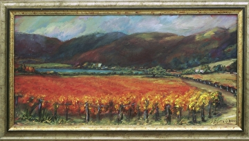 e473c79f1b1 Deirdre Shibano - Portfolio of Works  Wine Country Paintings ~ Napa ...