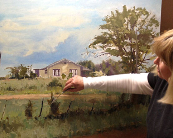 Dot Courson Workshop Painting The Southern Landscape With Dot