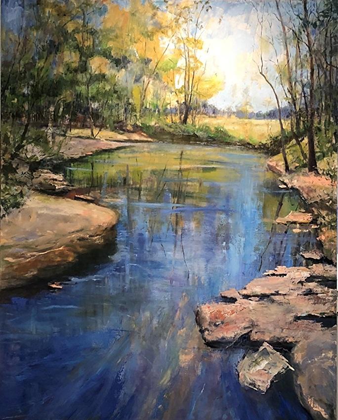 Dot Courson Fine Art American Landscape Paintings A Southern