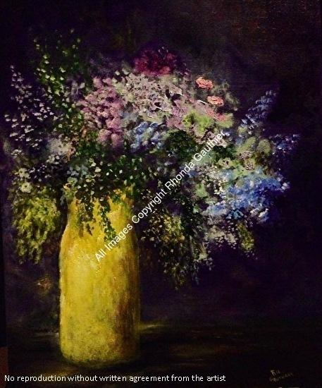 Rhonda Gauthier Work Zoom The Yellow Vase