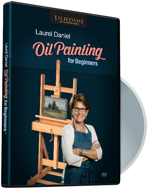Laurel Daniel Book Instructional Video Oil Painting For Beginners