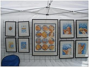 Wire Display Panels For Art Shows | Art Display Systems For Art Festivals Fineartviews
