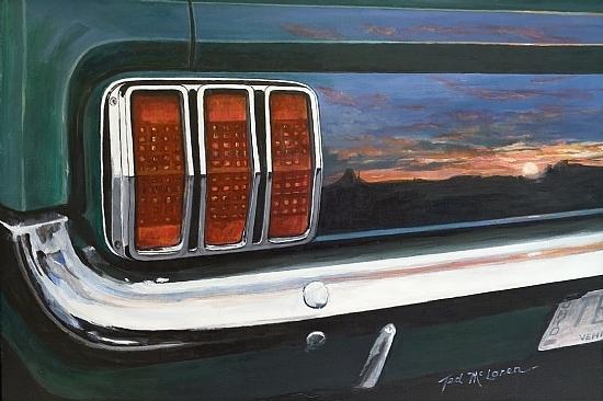 McLaren Fine Art Auto Icon