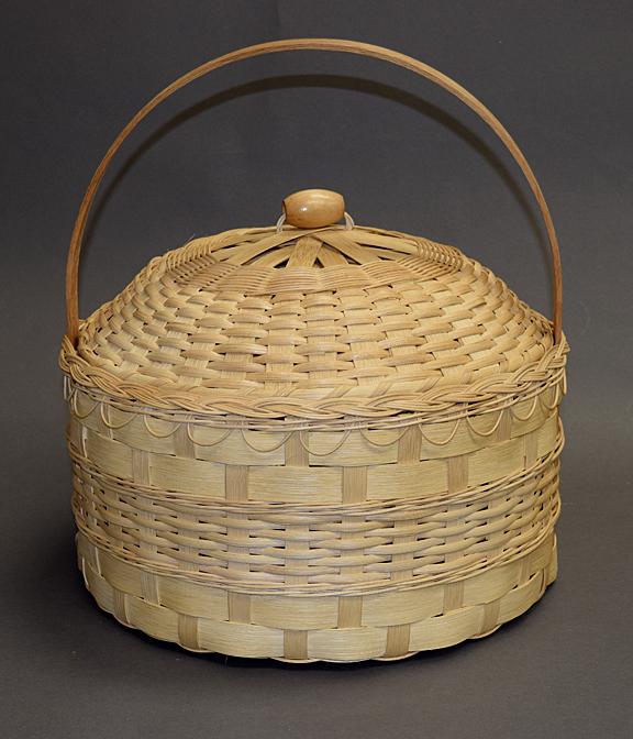Wool Gathering Basket