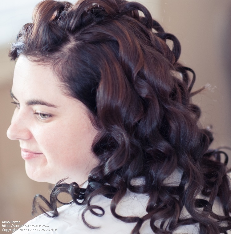 74a9445ee8 Curls II by Anna Porter digital photography ~ x. Zoom