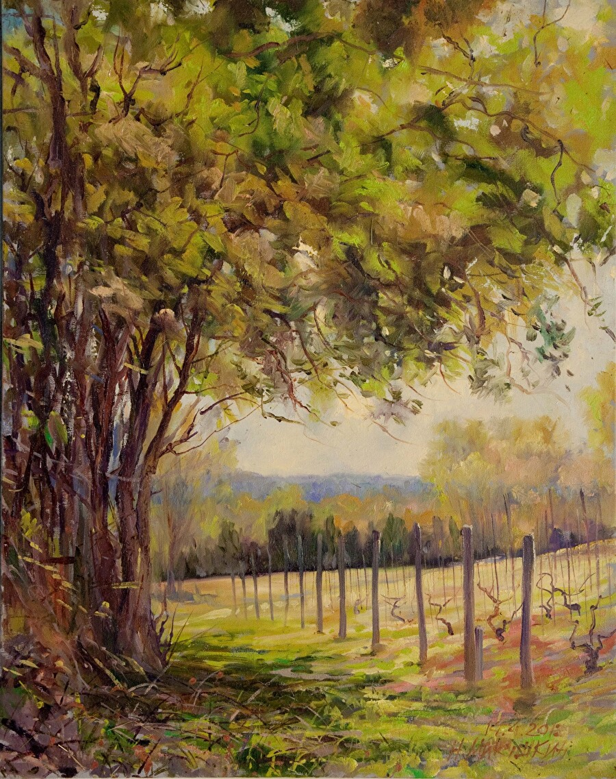 Nikolay Mikushkin - Work Zoom: NJ Grape Garden