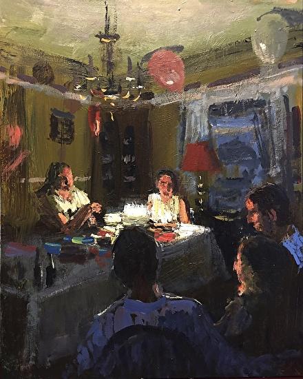 Joseph Gyurcsak - Workshop - Painting Interior Light