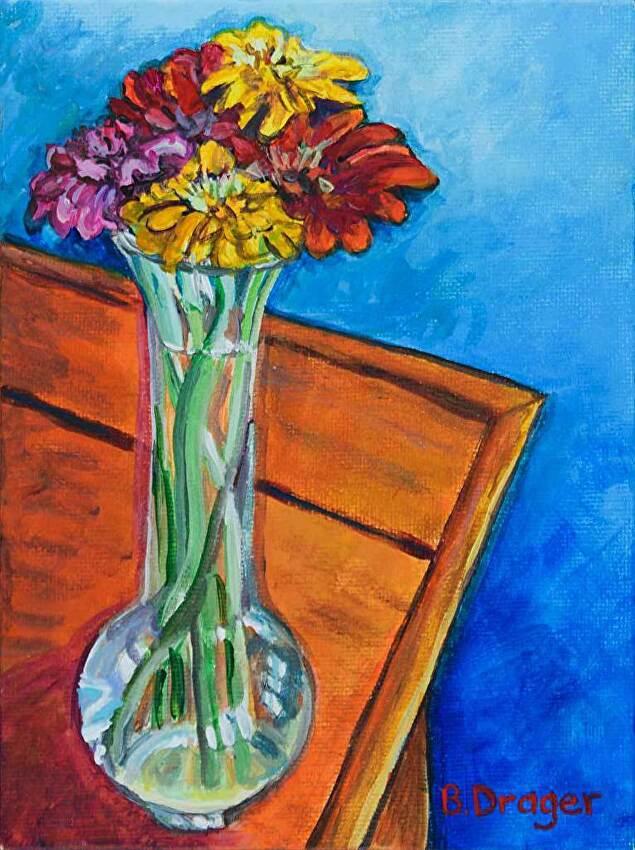 Becky Drager Work Zoom Bud Vase