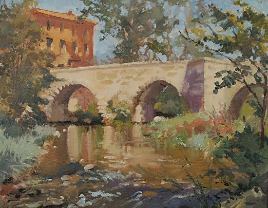Cynthia Edmonds Work Zoom Le Pont D Arc