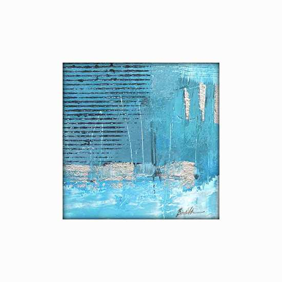 Filomena Booth Work Zoom 009 10 X 10 Matted Abstract