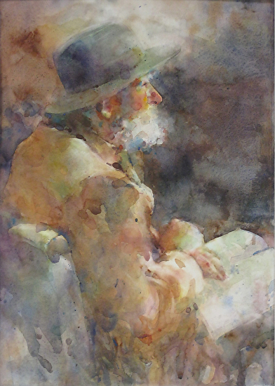 painting the figure in watercolor