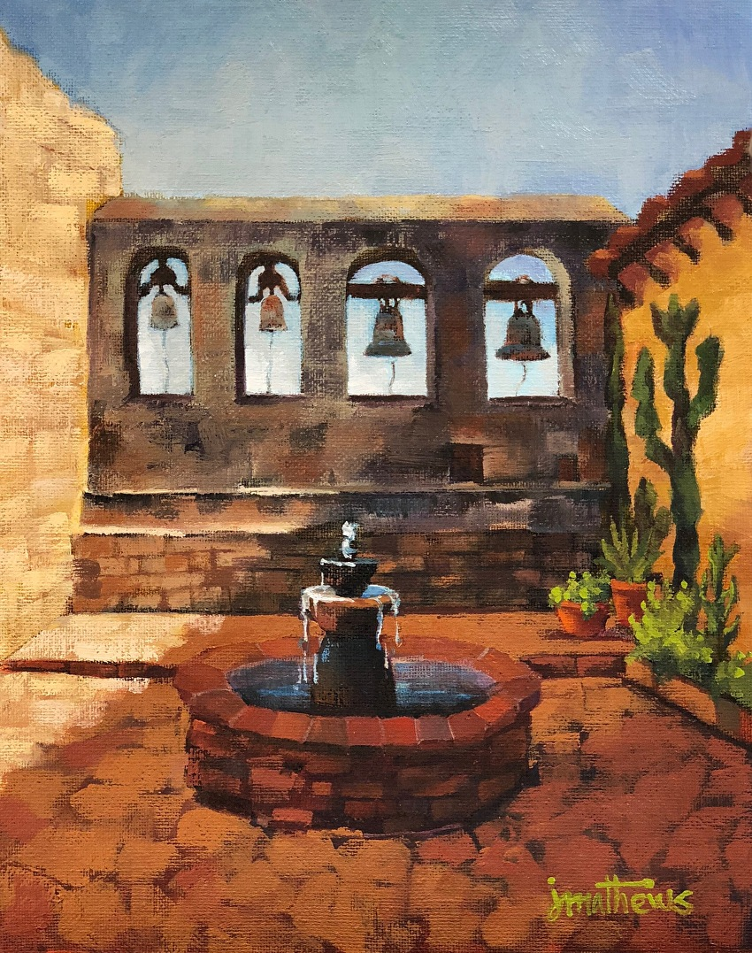 Sacred Garden Bells, Mission San Juan Capistrano   Jennifer Mathews ...