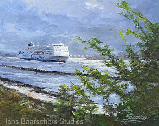Hans Baarschers - Work Zoom: Stena Hollandica - Outward Bound