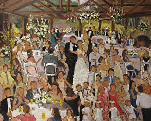 Barbara Davis - Page - Live Event Paintings