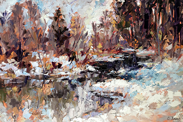 How the award winning modern landscape painters keep the