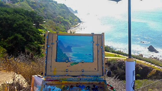 Los Angeles Plein Air Painting Locations
