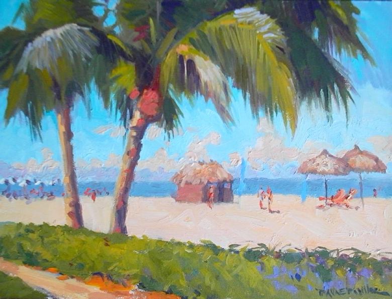 Dianne Miller - Work Zoom: View off Marco Island