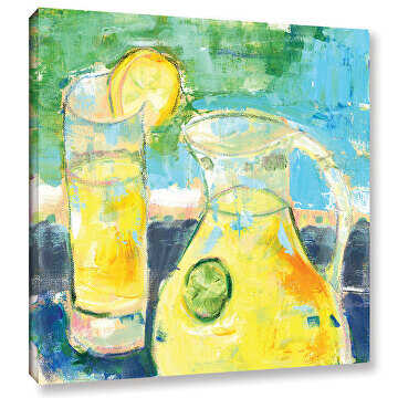 Glass Half Full. Available at Art.com by Pamela Wingard  ~  x
