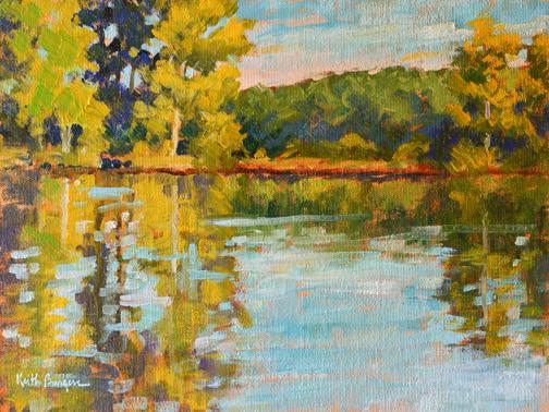 Keith Burgess Work Zoom Stone Mountain Lake