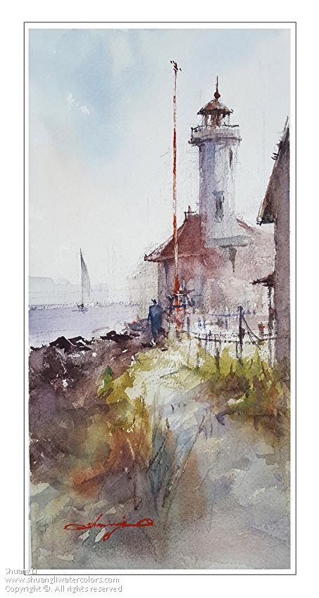 Shuang Li - Work Zoom: Point Wilson Lighthouse, Port Townsend
