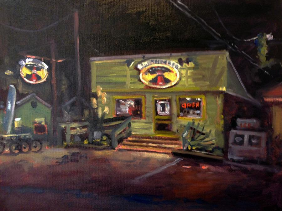 Chip Hemingway - Work Zoom: Wrightsville Beach, NC - Late Night at