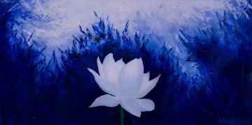 Hb sanford portfolio of works lotus flower bomb series lotus flower bomb blue ice mightylinksfo