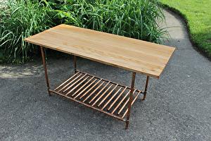 Paul Segedin - Work Zoom: Reclaimed Oak Flooring & Copper