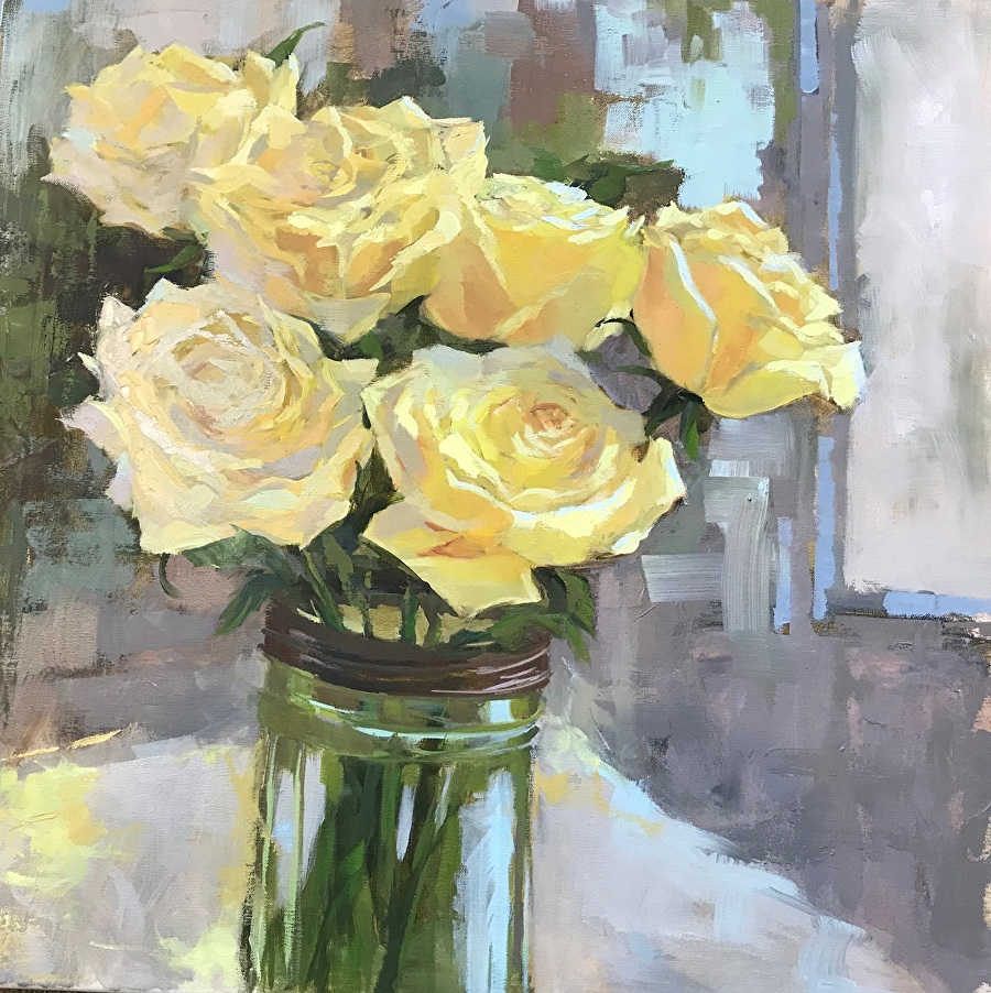 Maryellen Mabe Work Zoom The Yellow Rose Of Texas