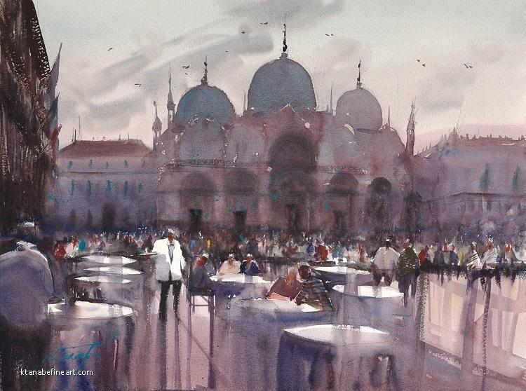 Keiko Tanabe - Work Zoom: San Marco Cafe, Venice
