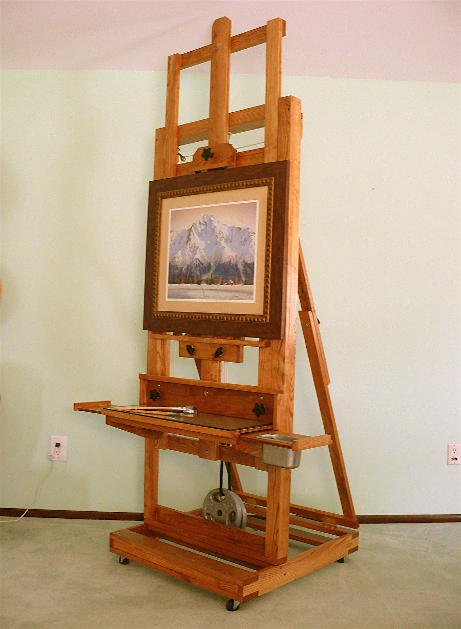 bob perrish work zoom cadmium easel