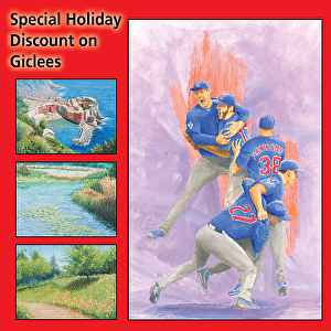 Giclee Special Holiday Discount | Fred Moss - Blog