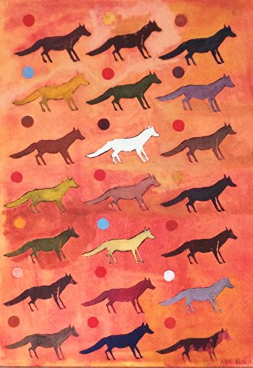 Dirty Paws by Elaine Kehew Oil ~ 39 x 28