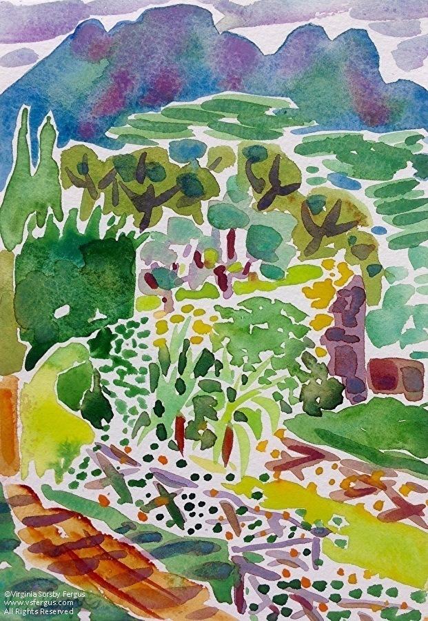 Virginia Fergus - Work Zoom: Dream Garden