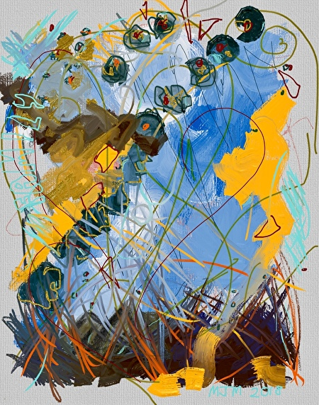 Family by Mary Jane Mulholland iPad Art: Procreate/Art Set ~  x