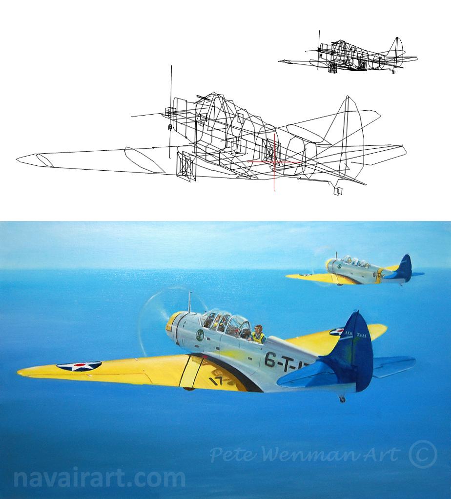 Pete Wenman Aviation Art