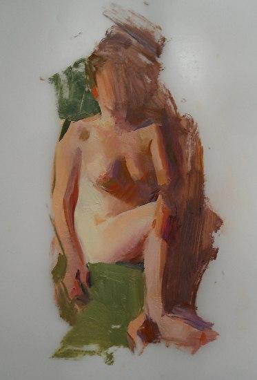 Figure Sketching in Oil | Lyon Burdick - Blog