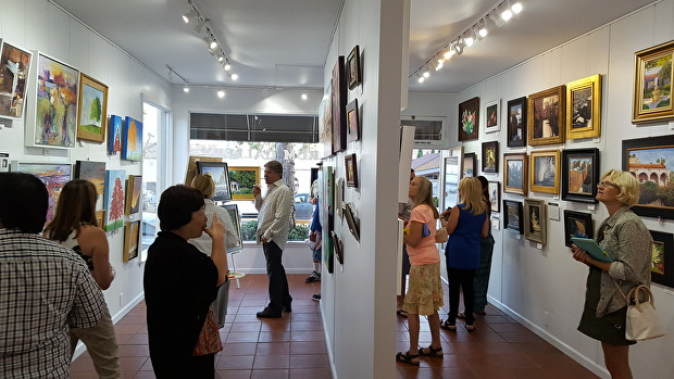 Quorum Gallery - Event - First Thursday Art Walk - We