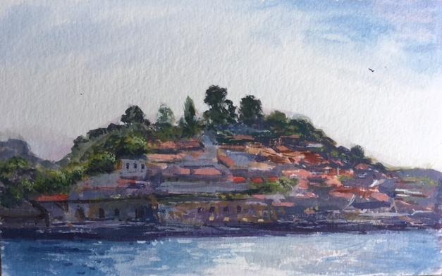 Resultado de imagen de douro rio porto painting