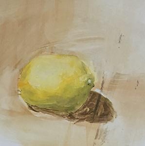 Another beginner painter lemon