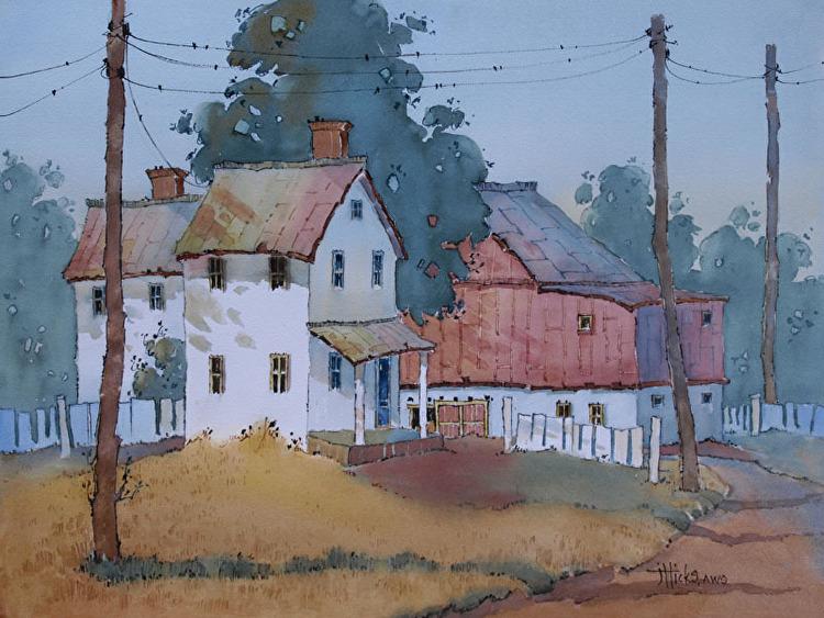 Evolution of a Painting Video | Joyce Hicks - Blog